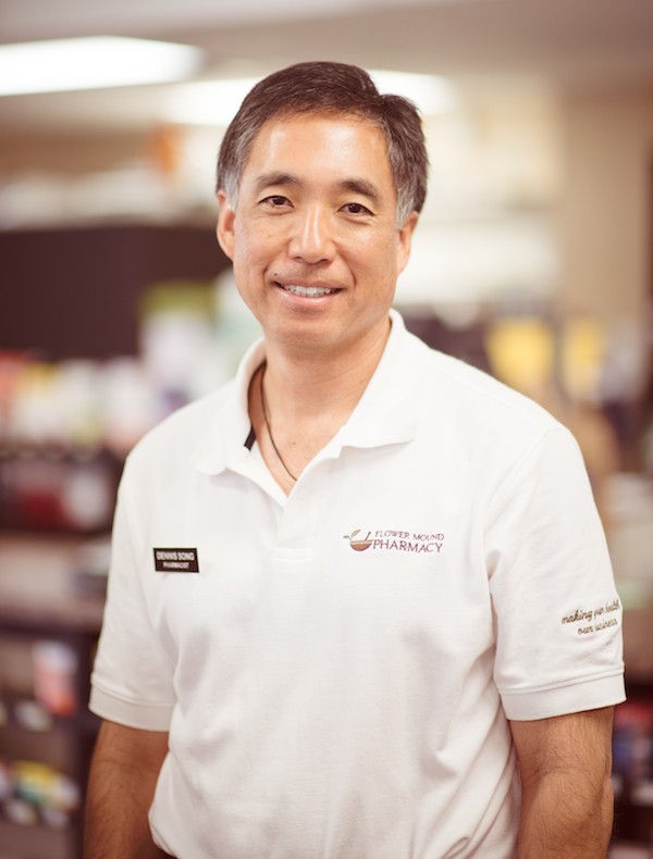 Dennis Song is the owner and head pharmacist at Flower Mound Pharmacy