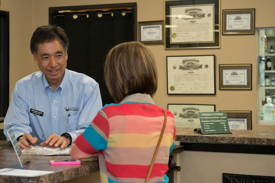 Owner and pharmacist Dennis Song, R.Ph, CHC
